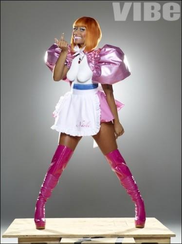 nicki minaj vibe photoshoot. Nicki-Minaj.Org | iMinaj.