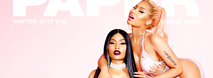 Nicki Minaj on Paper Magazine Cover