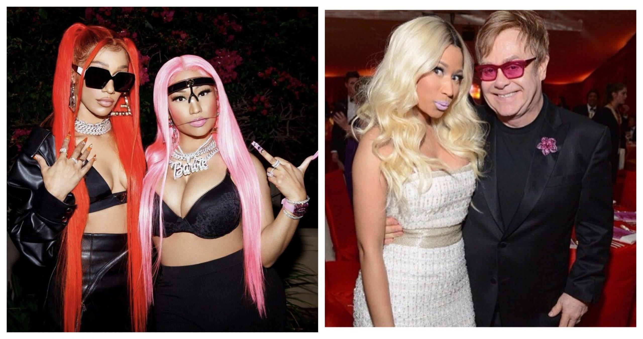 'Whole Lotta Money': Nicki Minaj Ties Elton John Record with 40th Hot 100 Top 20 Hit